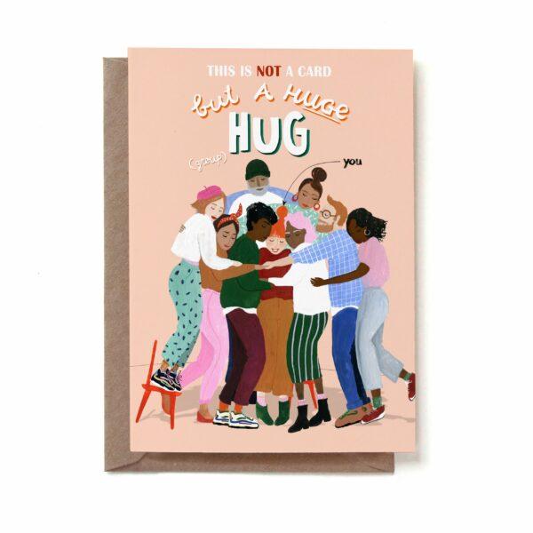 group-hug-duurzame-ansichtkaart